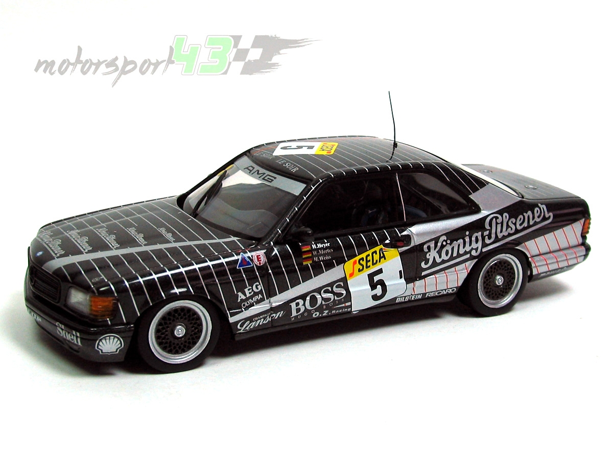 Mercedes Benz 500 SEC AMG 24h. Spa Francorchamps 1989 #5