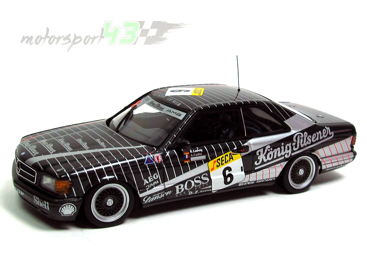 Mercedes Benz 500 SEC AMG 24h. Spa Francorchamps 1989 #6