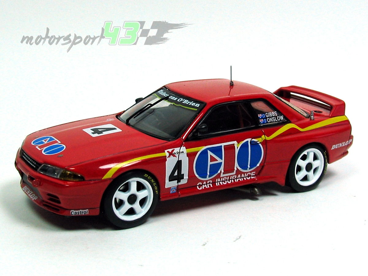 Nissan Skyline GT-R 1º Sandown 500 1991 #4