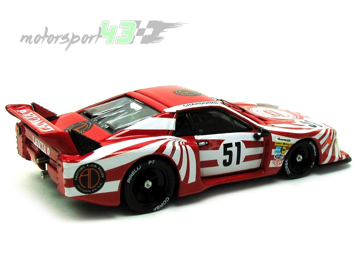 Lancia Beta Montecarlo Turbo 24h  Le Mans 1980  51