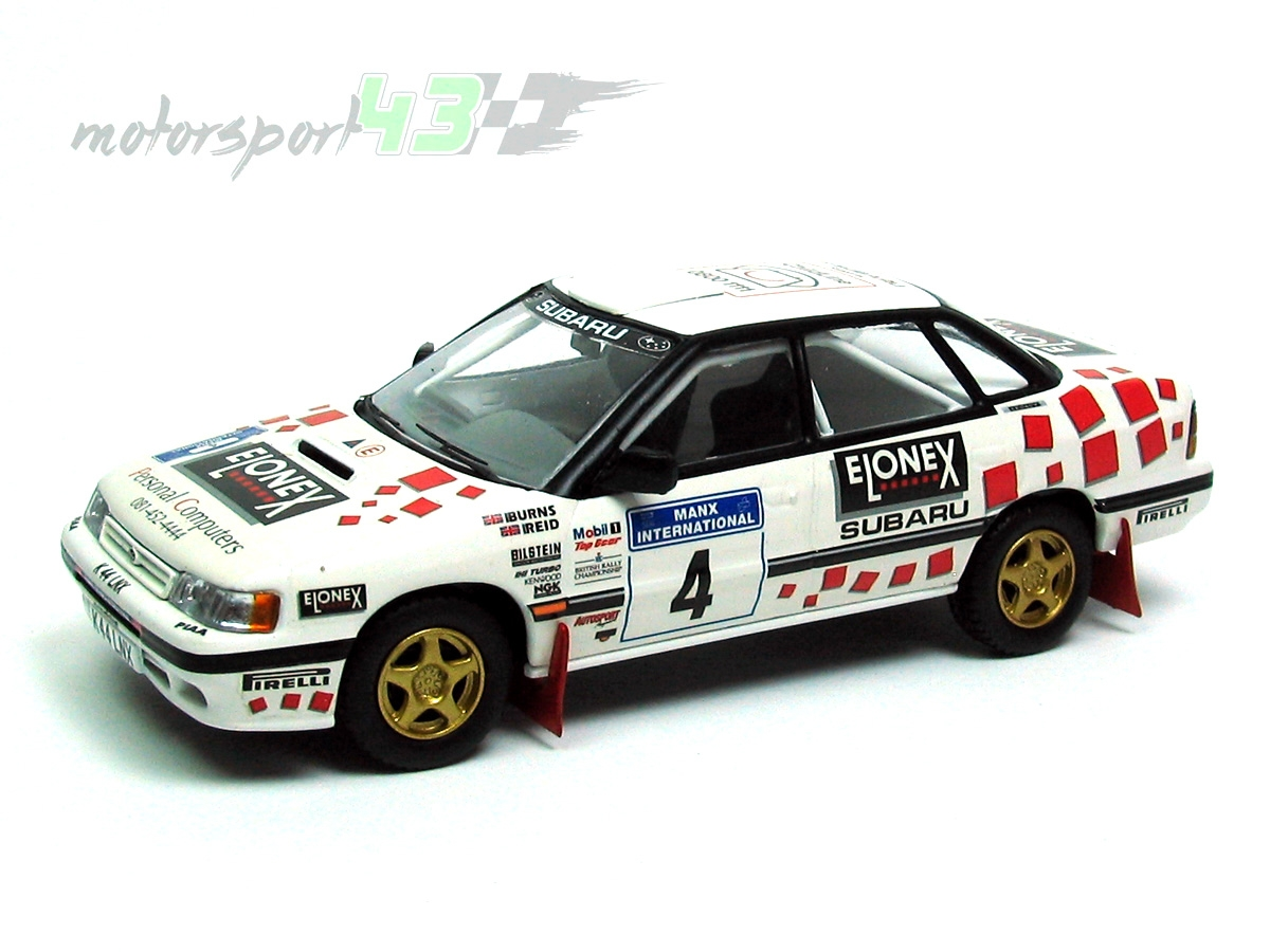 Subaru Legacy RS Gr. A Rally Manx International 1993 #4