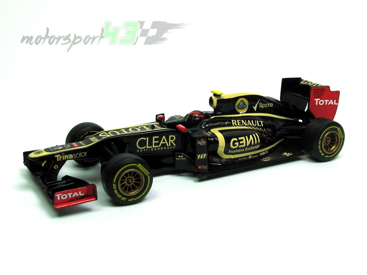 Lotus F1 Team E20 2012 #10 Romain Grosjean