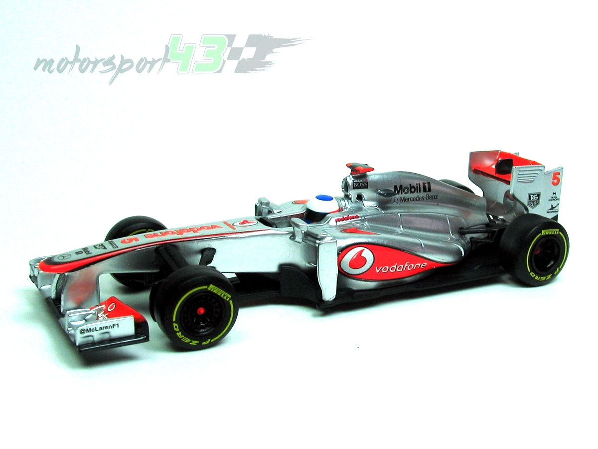 McLaren Mercedes MP4-28 2013 #5 Jenson Button
