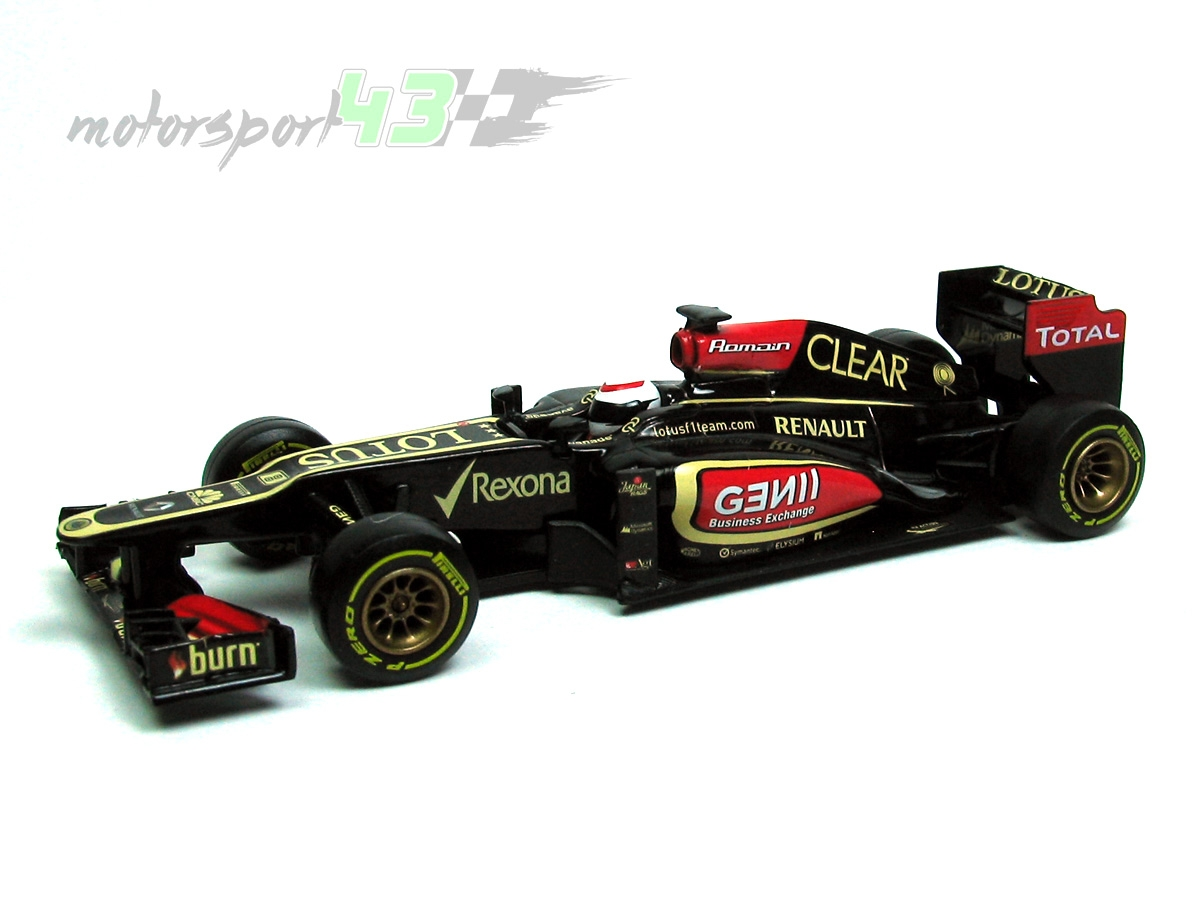 Lotus F1 Team E21 2013 #8 Romain Grosjean