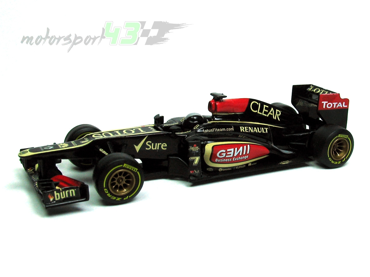 Lotus F1 Team E21 2013 Test Car Davide Valsecchi