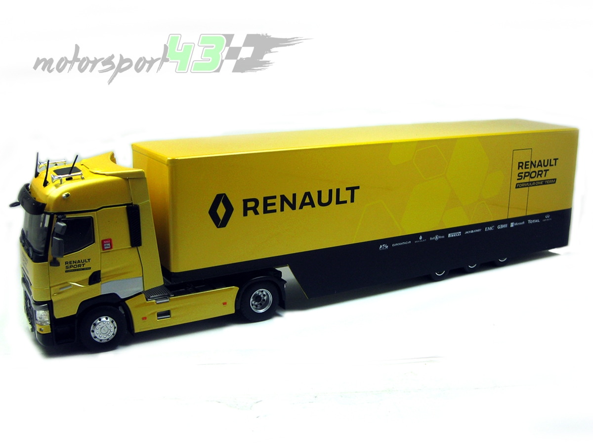 Renault T520 High Renault Sport 2016 F1 Team
