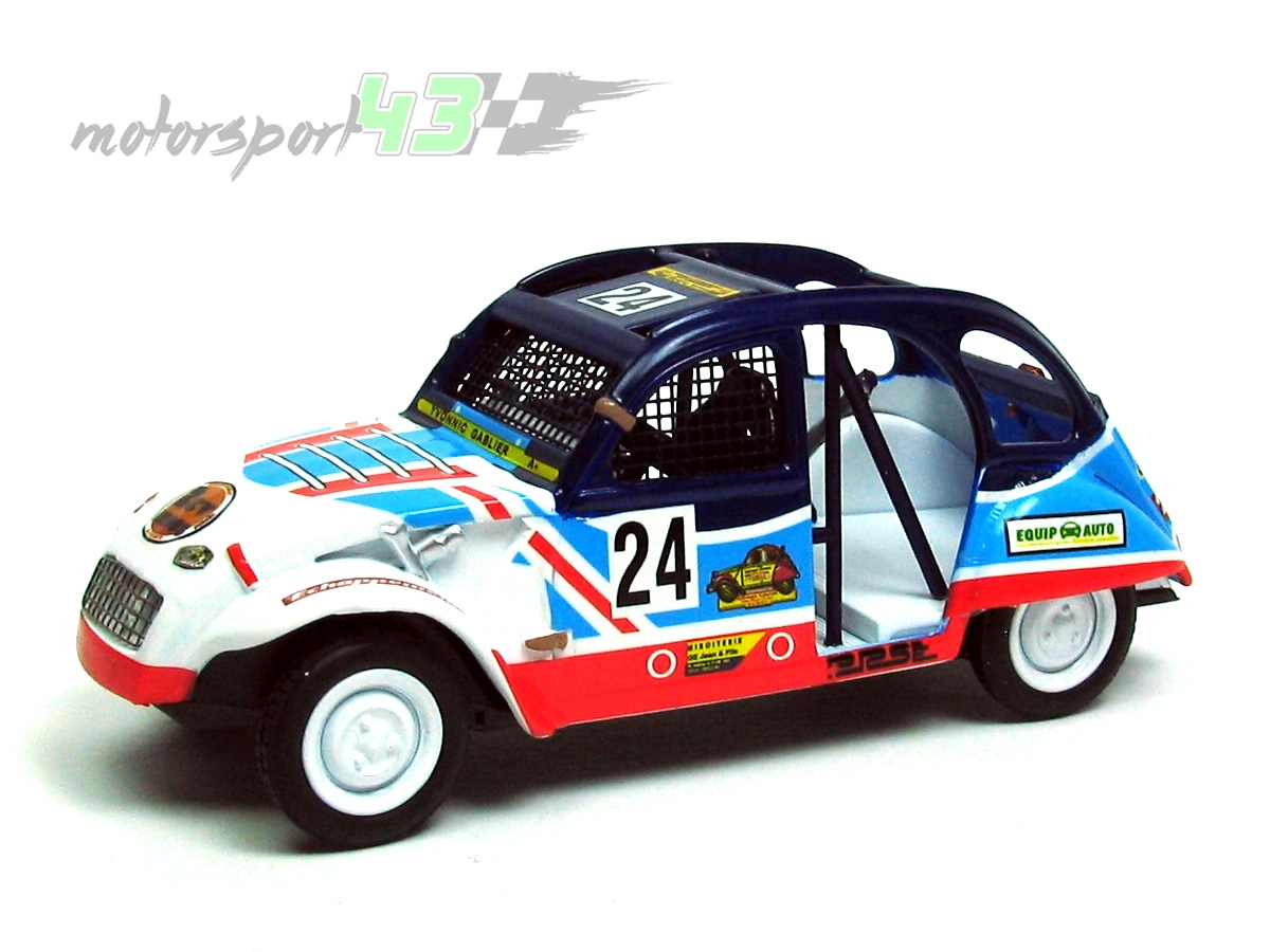 "Citroen 2CV Cross ""Basket"" #24"