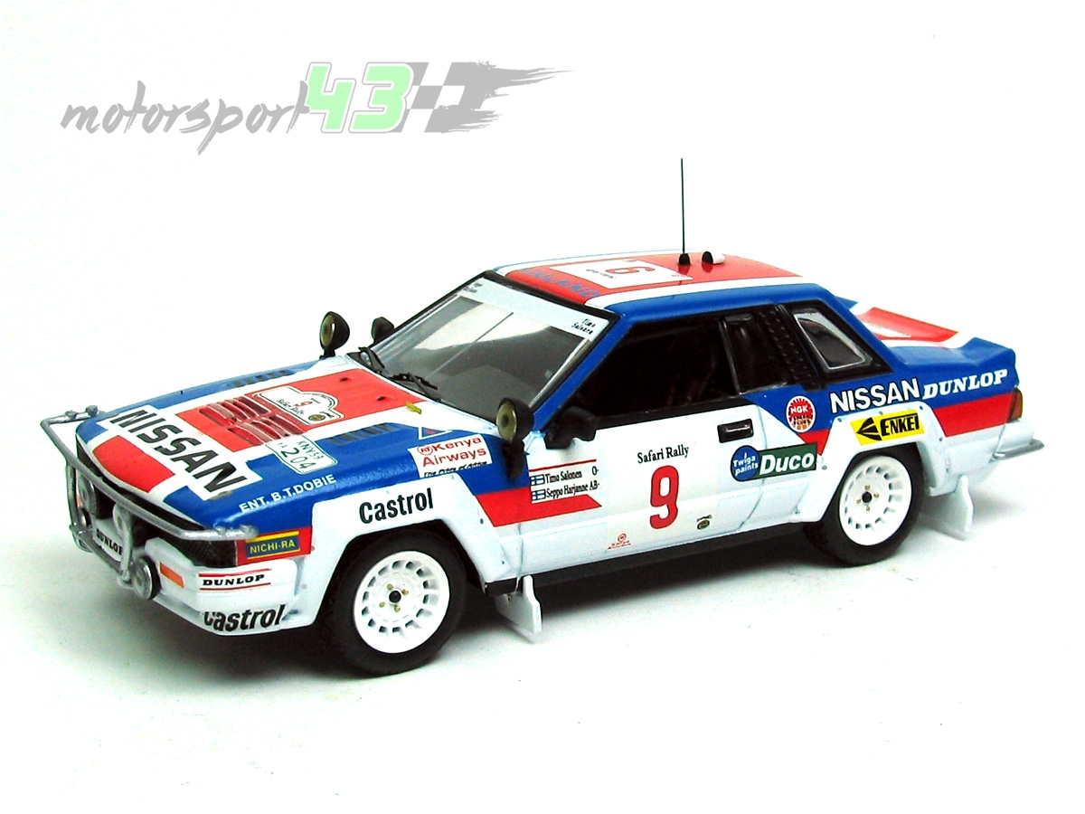 Nissan 240 RS Rally Safari 1984 #9