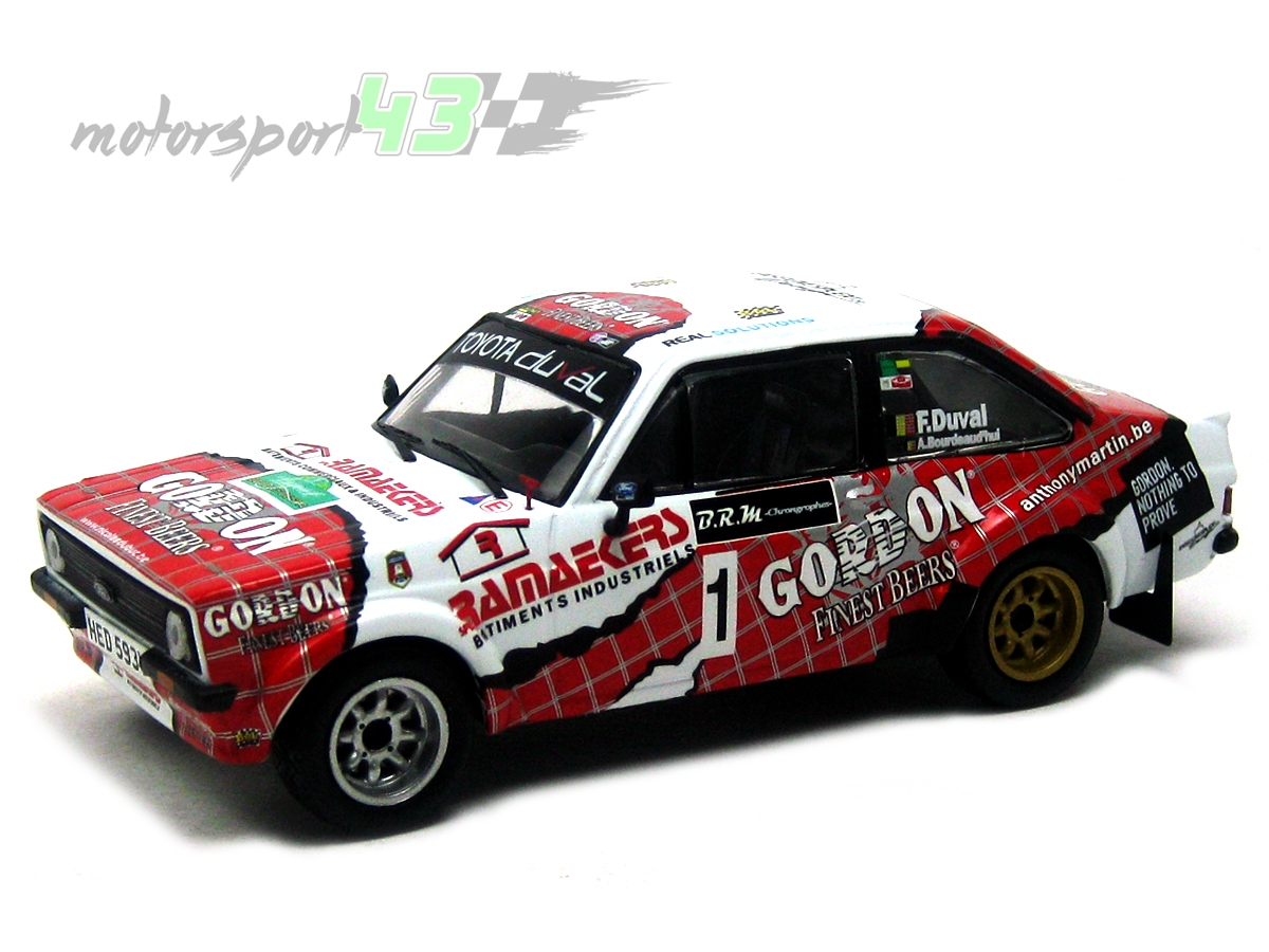 Ford Escort MkII  RS Boucles de Spa 2014 #1