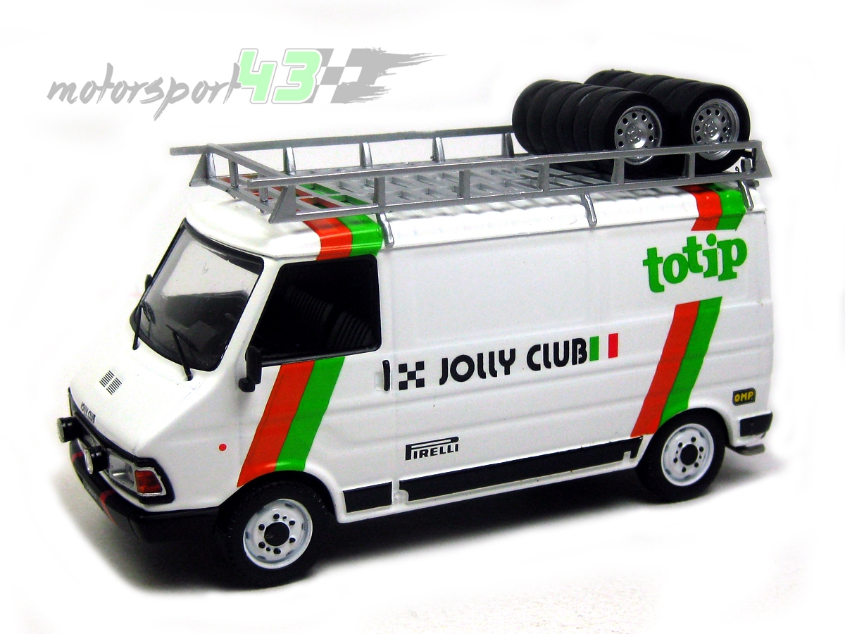 Fiat 242 Asistencia TOTIP JOLLY CLUB 1985