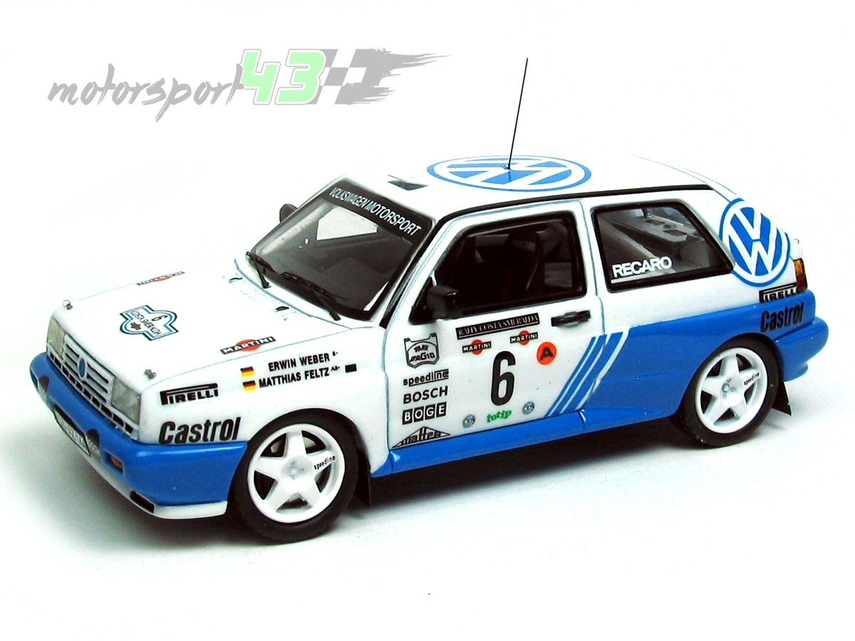 VW Rallye Golf G60 Rally Costa Esmeralda 1990 #6