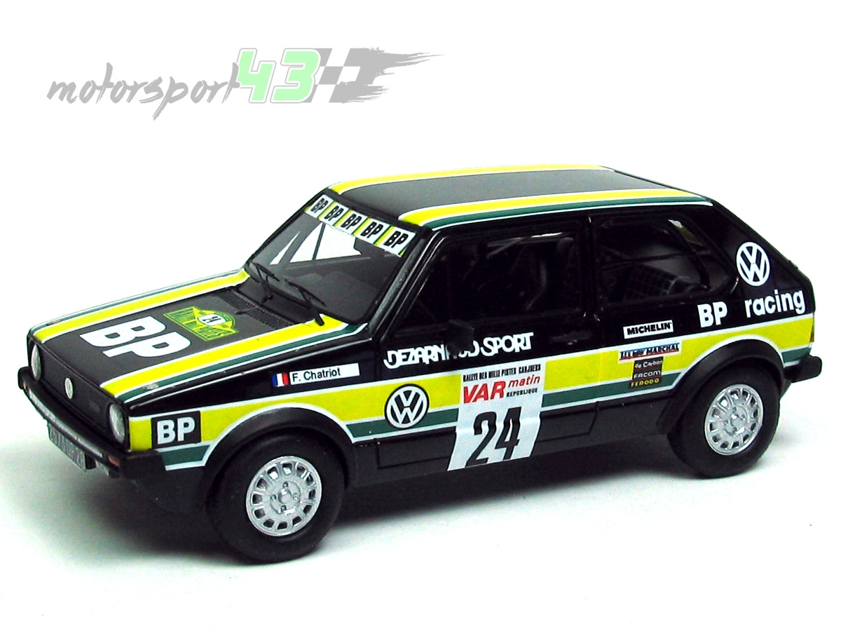 VW Golf Gr. 1 Rally mil pistas 1980 #24