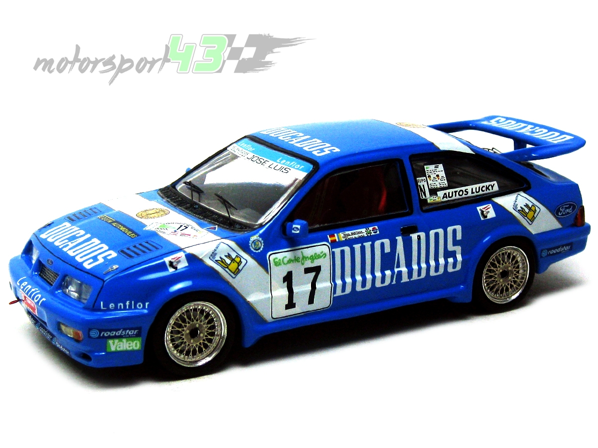 Ford Sierra RS Cosworth Rally El Corte Inglés 1988 #17