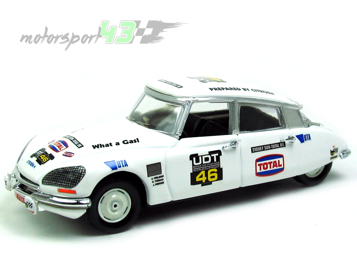 CITROEN DS 23 UDT World Cup Rally 1974 #46