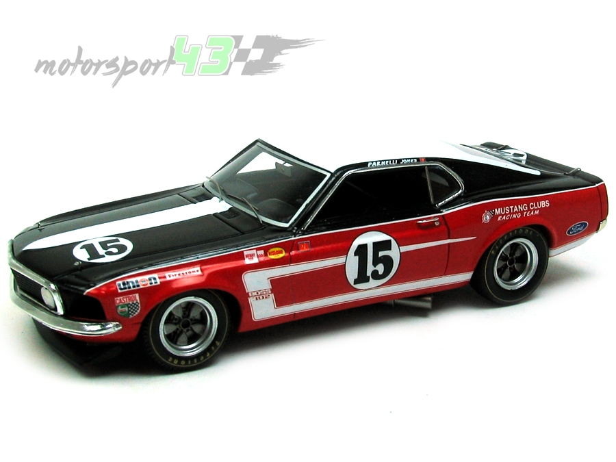 Ford Mustang Trans-Am 1969 #15
