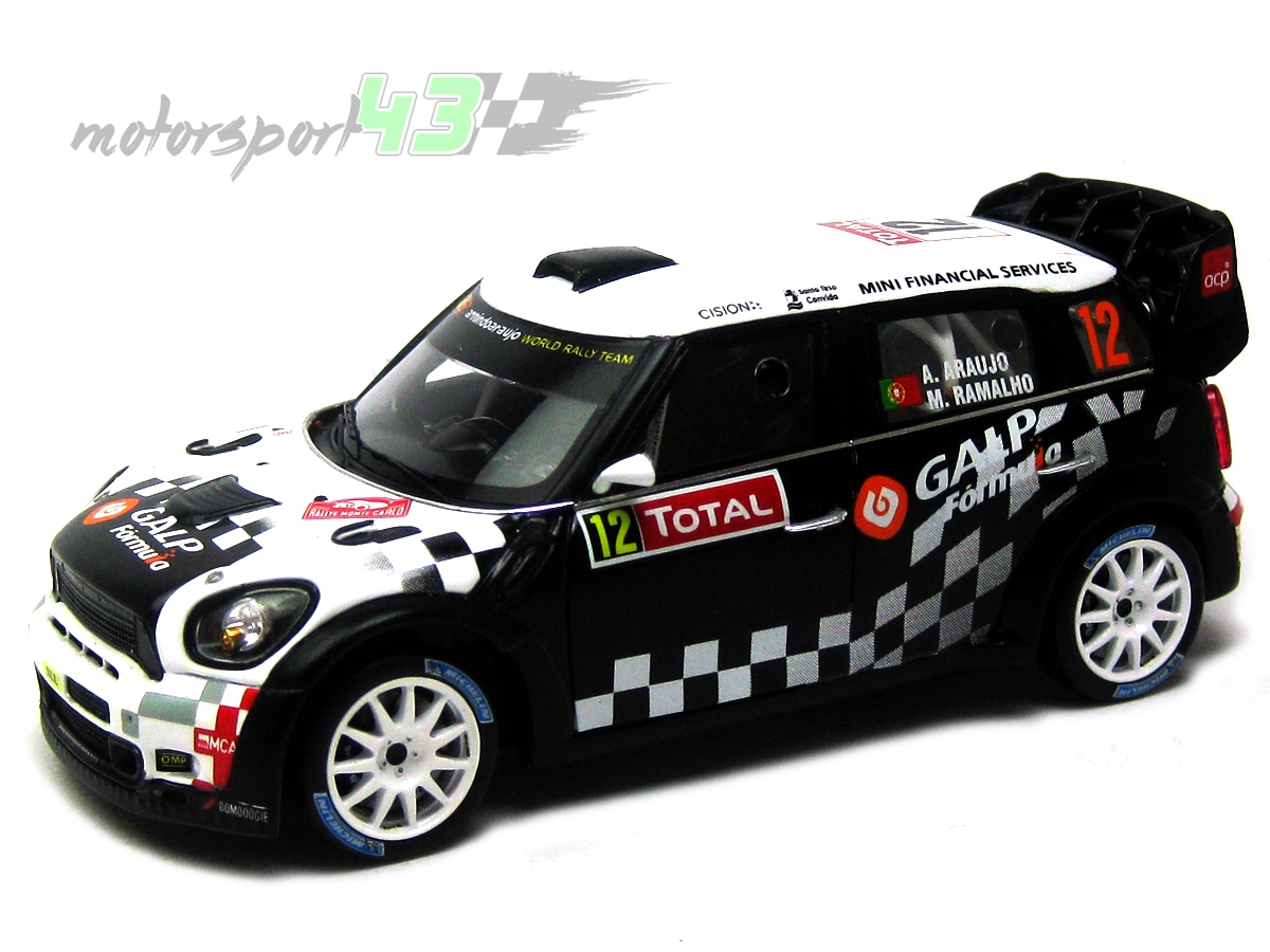 Mini John Cooper Works WRC Rally Montecarlo 2012 #12