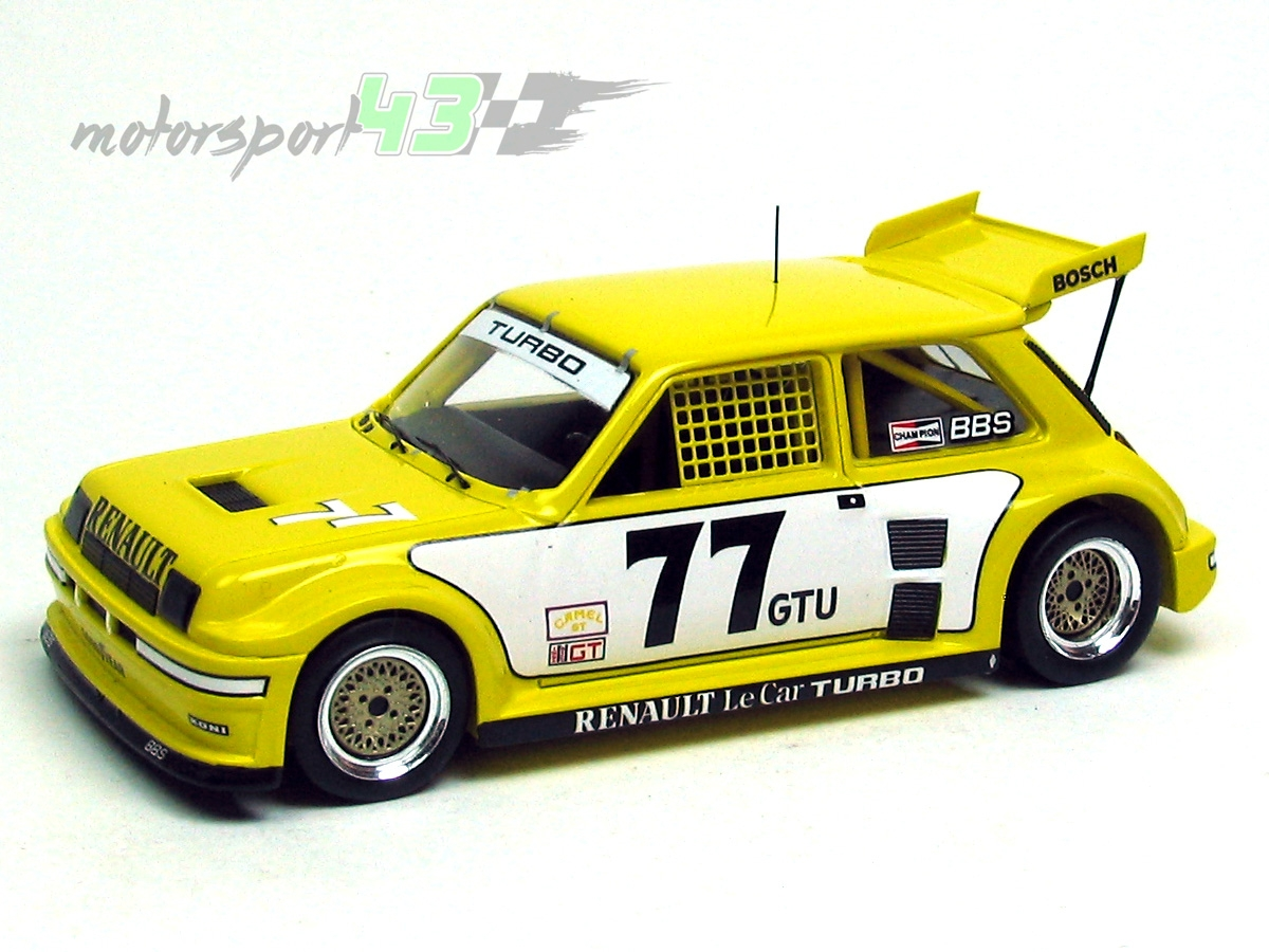 Renault 5 Turbo IMSA 1981 #77