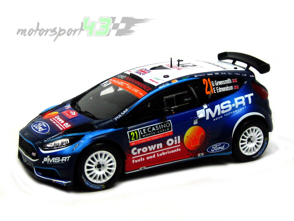 Ford Fiesta R5 Rally Montecarlo 2019 #21 Greensmith/Edmondson