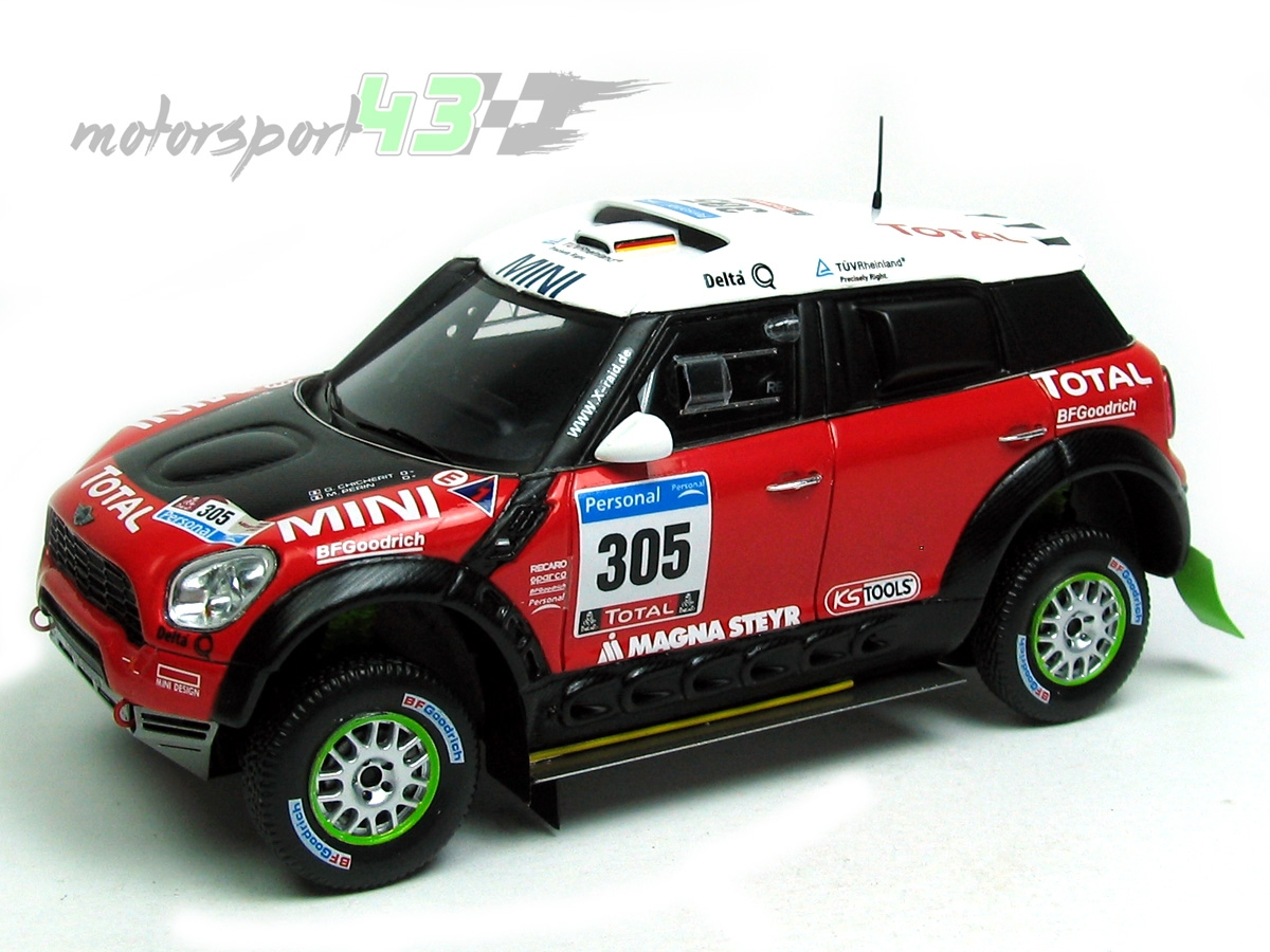 Mini All4 Racing Dakar 2011 #305