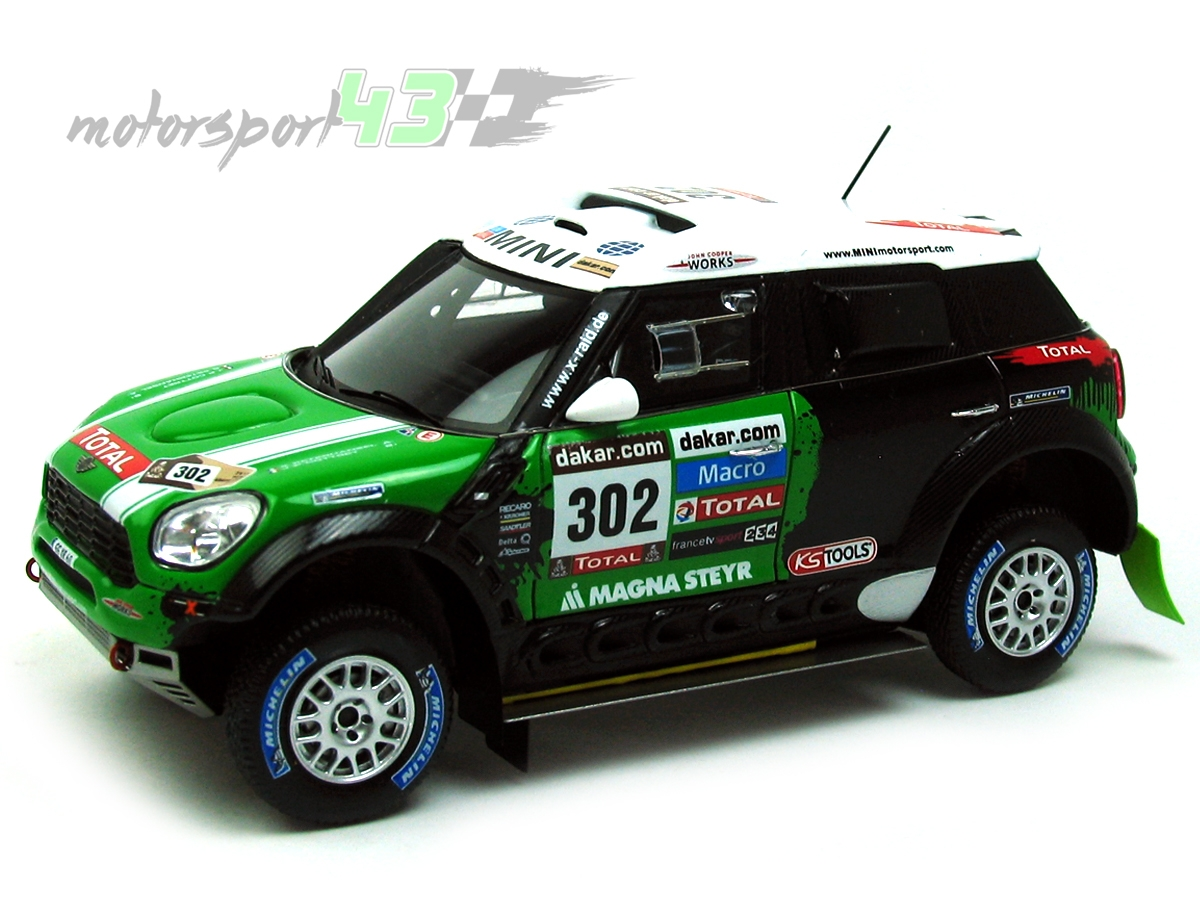 Mini All4 Racing Dakar 2013 #302