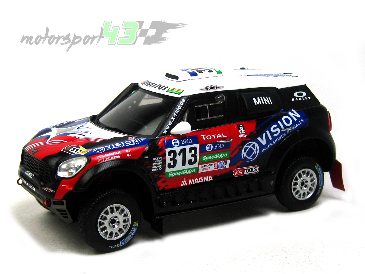 Mini All 4 Racing Dakar 2016 #313