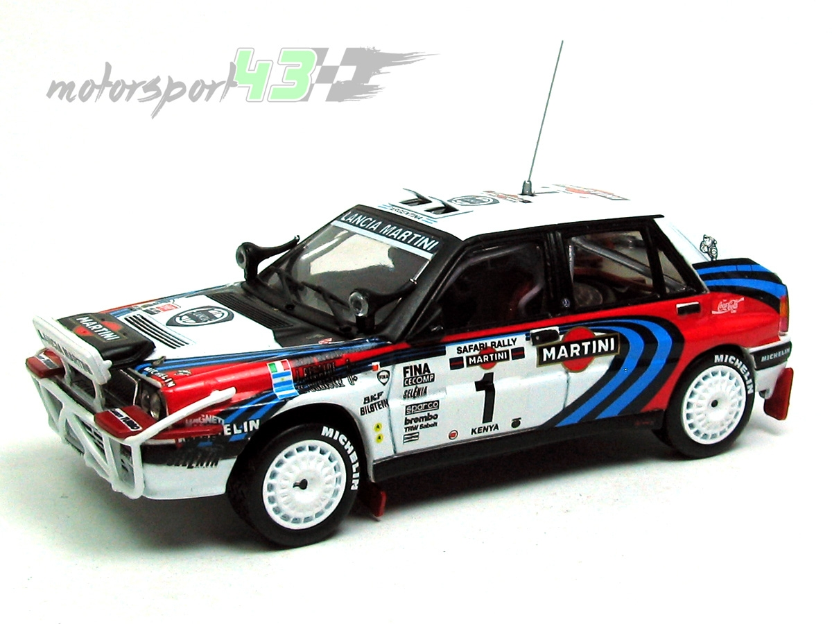 Lancia Delta HF Integrale 16v Rally Safari 1991 #1