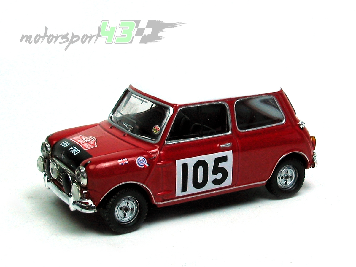 Mini Cooper Rally Montecarlo 1964 #105