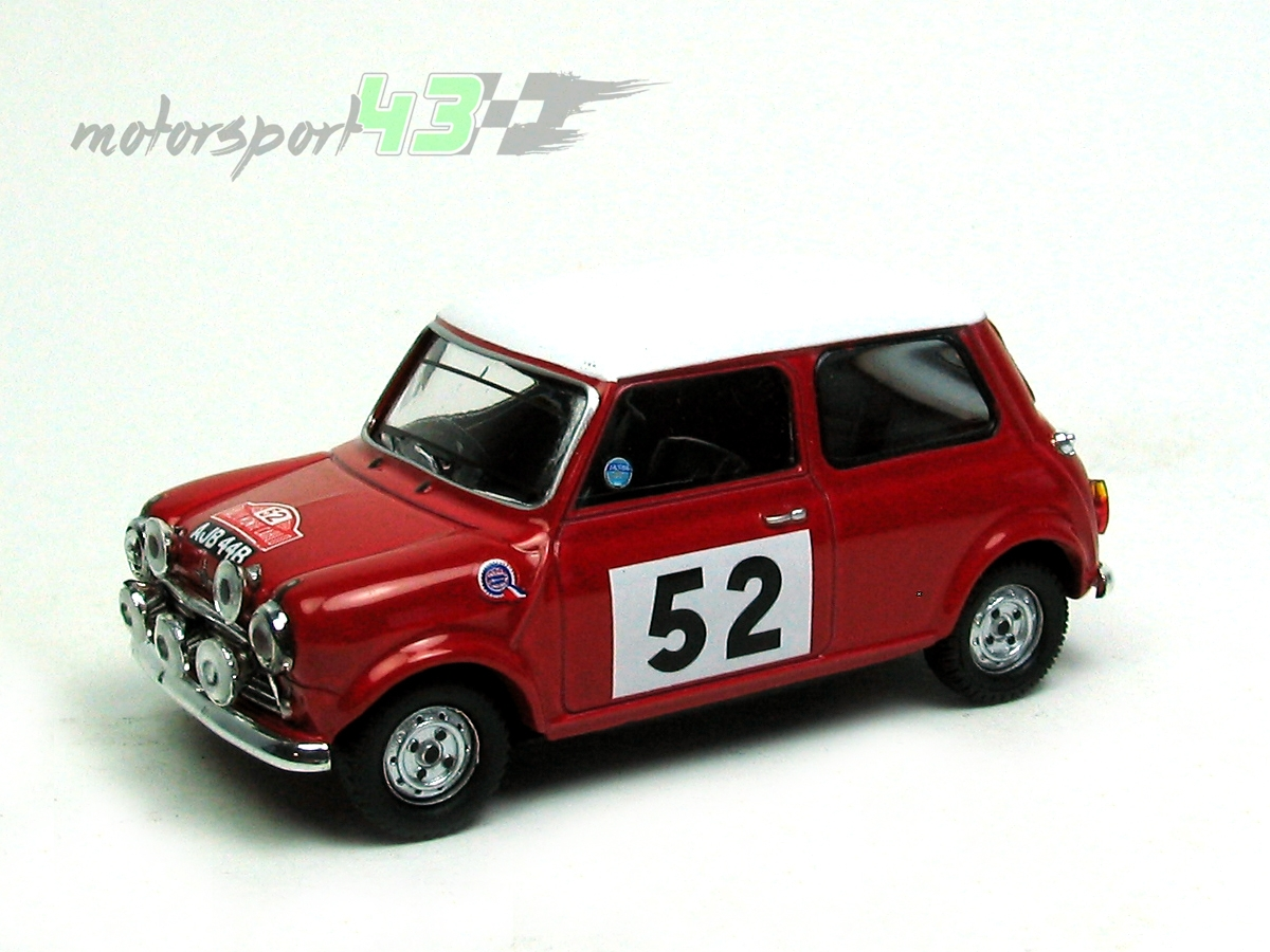 Mini Cooper Rally Montecarlo 1965 #52