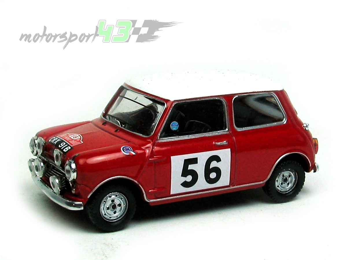 Mini Cooper Rally Montecarlo 1965 #56
